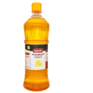 Cold Pressed Gingelly / Sesame Oil. Cholesterol Free - 1 Litre